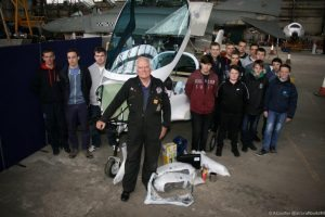 air cadets build a sting