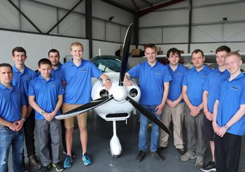 Boeing & Air Cadets Celebrate Sting Completion